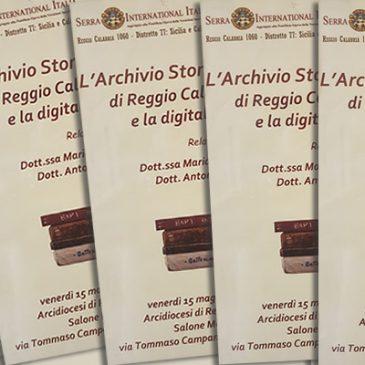 L'Archivio storico diocesano e la digitalizzazione