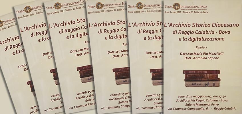 archivio storico diocesano e digitalizzazione