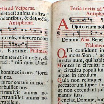 Restaurati due antichi libri liturgici