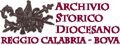 Archivio Storico Diocesano Reggio Calabria-Bova