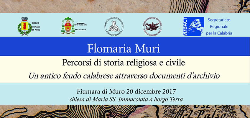 Flomaria Muri - exhibition on Fiumara di Muro