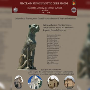 Le chiese reggine attraverso i documenti dell'Archivio Storico Diocesano Reggio-Bova