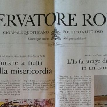Osservatore Romano available